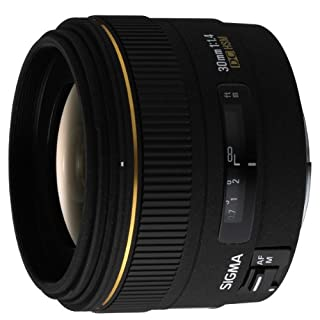 Sigma 30 / 1,4 DC /EX/HSM - Objetivo para Canon (distancia focal fija 30mm, apertura f/1.4) color negro (B0007U0GZM) | Amazon price tracker / tracking, Amazon price history charts, Amazon price watches, Amazon price drop alerts