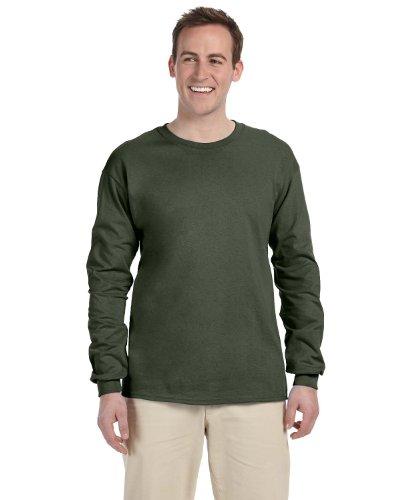 Fruit of the Loom T-shirt - 4930R Heavy Cotton Grün - Military Green