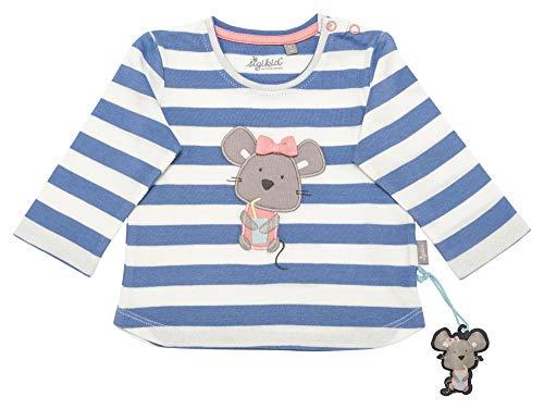 Sigikid Mädchen, Baby Langarmshirt, Blau (Colony Blue 539), Herstellergröße: 74