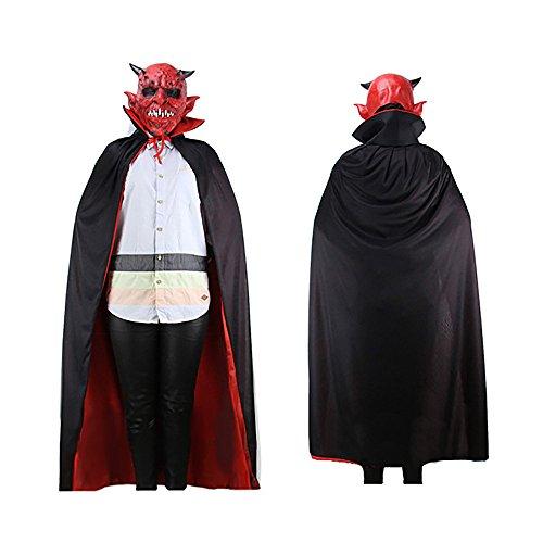 GOKOMO Hoher Kragen Spukhaus Hexenteufel Mantel Mantel