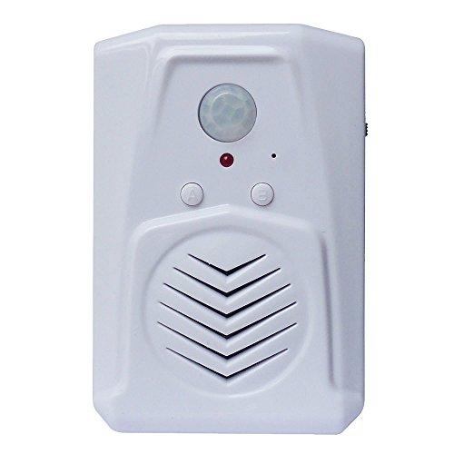 Sensor de movimiento PIR, Edición Pro con función multipista, descargue sus archivos MP3, Reproduzca voz, música o efectos de sonido