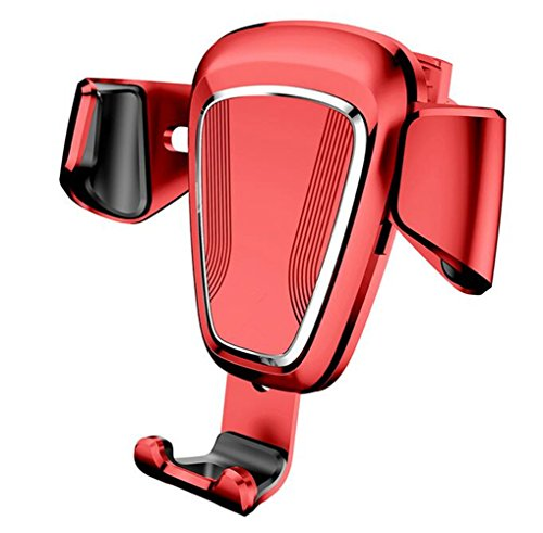 Aluminium Frame Sofa (SHULING Mobiltelefon-Ständer Auto Halterung Für Mobiltelefon Car Outlet Snap-In-Car Universal Multi - Die Navigation Frame, A, Rot)