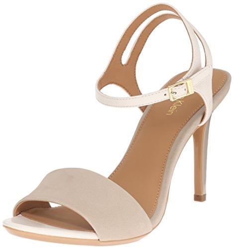 Calvin Klein Nadina Damen US 10 Grau Sandale