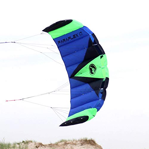 Wolkenstürmer Paraflex Sport 1.7 Kite, blau - Lenkmatte mit reißfesten Leinen