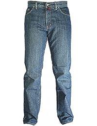 Pierre Cardin - Jeans - Jambe droite - Uni - Homme