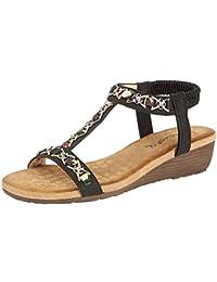 2f0c49a6f Cipriata Ladies Lia  Sling Back Wedge Heel Sandal