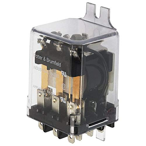 Tyco Electronics KUP-14D55-12 Leistungsrelais, 10 A, 3PDT, 12 VDC, 240 VAC Tyco Electronics