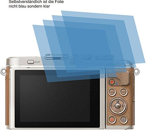 4x ANTIREFLEX matt Schutzfolie für Olympus PEN E-PL9 Displayschutzfolie Bildschirmschutzfolie Schutzhülle Displayschutz Displayfolie Folie