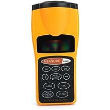JZK® LCD Medidor láser ultrasónico Metro láser ultrasónico Multifunción de distancias [Clase de eficiencia energética A]