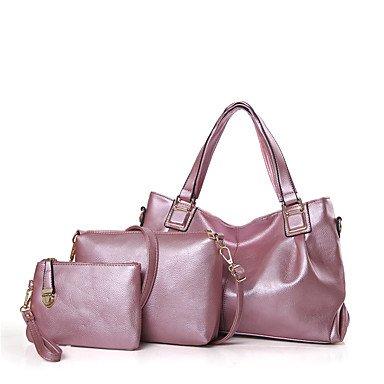 Le donne della moda Classic Crossbody Bag,rosso Blushing Pink