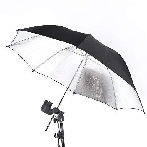 Yangyme Kamerazubehör Studio Photo Strobe Blitzlichtreflektor Schirmreflektor Diffusor (83cm)