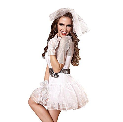Schneewittchen sexy Uniform Versuchung Nachtclub Kleid, Strümpfe, kurze Röcke, Anzüge , M (Plus Schneewittchen Kostüme)