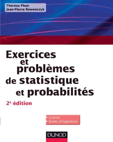 Exercices et problèmes de Statistique et probabilités - 2e éd