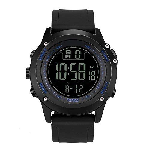25-FANYUHONG Herren Luxusuhren Herren Digital Army Sport LED wasserdichte Armbanduhr (Color : B)