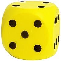 Simba-107352855-Soft-Wrfelspiel-1Stck Simba 107352855 – Soft- Würfelspiel 1Stück , farblich sortiert -
