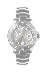 ICE-Watch - Montre Mixte - Quartz Analogique - Ice-Alu - Silver - Unisex - Cadran Gris - Bracelet Aluminium Gris - AL.SR.U.A.12