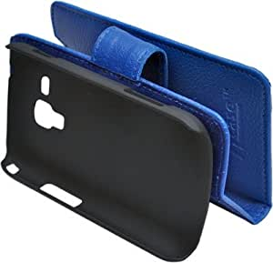 ncase Book Type Cover Promo Blue for SM S7582 Galaxy S DUOS 2