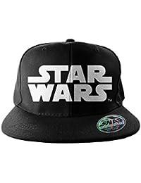 5372036ffc540 Star Wars Baseball Cap classic Logo Official Black Snapback One Size