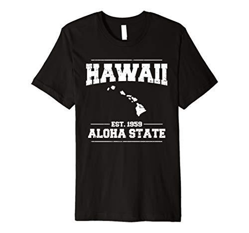 Hawaii-Insel Aloha State-T-Shirt Luau Party Urlaub
