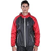 Cody Lundin traje de sudoración xxxl Sauna Suit hombres fitness traje de pérdida de peso (M, color-e)