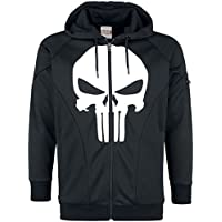 The Punisher Skull Logo Trainingsjacke schwarz