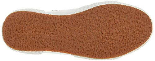 Superga Unisex-Erwachsene 2750 Macramew Sneaker, Schwarz/Silberfarben Black Silver
