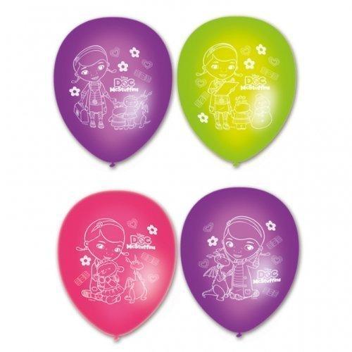 tstagsparty 27.9cm Latex Ballons x 6 (Doc Mcstuffins Ballons)
