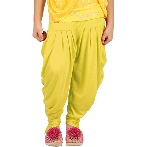 Goodtry Girls Butterfly Dhoti Pant-Gold  available at amazon for Rs.179