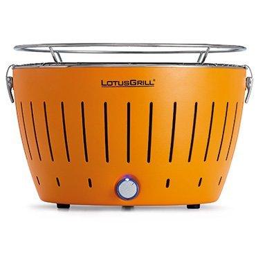 Kuhn-Rikon-LotusGrill-ORANGE-Barbecue-da-tavolo-di-colore-arancio