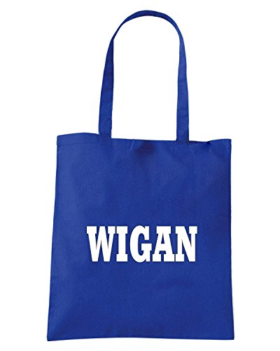 T-Shirtshock - Borsa Shopping WC0774 WIGAN Blu Royal