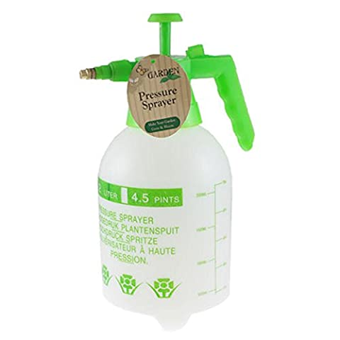 Ardisle 2 L Litre Manual High Pressure Sprayer Bottle Knapsack Spray Weed Killer Garden Pump Action Pressure Sprayer - use with water, fertilizer or