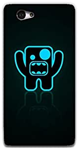 The Racoon Grip Shouting Bug hard plastic printed back case / cover for Sony Xperia M2