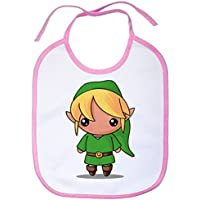 Babero Chibi Kawaii Link parodia de Legend of Zelda