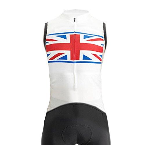 Uglyfrog LFB04 2018 Männer Anzüge Fahrrad Breathable Frühling & Sommer ärmellos Trikot Radfahren Skinsuit Herren ärmellos Jersey Fahrradtrikot Triathon