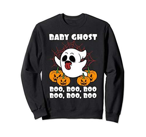Boo Baby Kostüm - Halloween Baby Ghost Geist Boo Boo Boo Kürbis Kind Geschenk  Sweatshirt