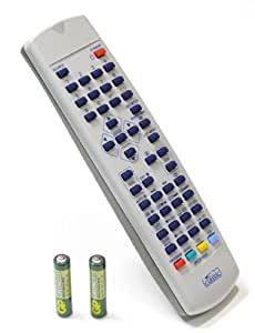 Replacement Remote Control for Kenmark 22LVD46D (batteries included)