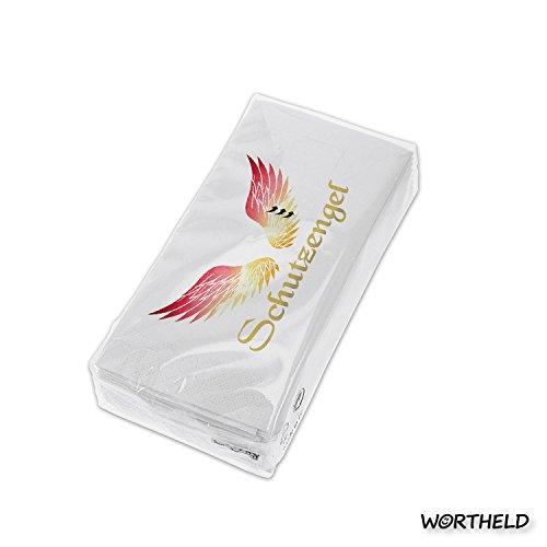 """Preisvergleich Produktbild WORTHELD 43531 Taschentücher """"Schutzengel"""""""