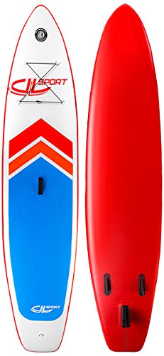 DVSPORT Paddleboot Arrow 2 weiß/rot