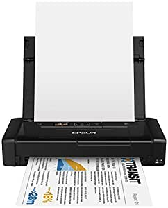 Epson Workforce WF-100W Stampante Portatile Inkjet, A4, Wireless, Nero