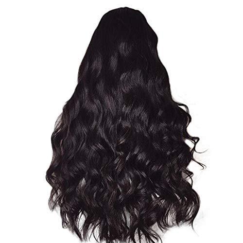 MOIKA Femmes Perruques Noir Brésilien Bouclé Cheveux Non Lace Front Wigs Vague Profonde Vague de Corps en Vrac Vague Perruques Party Quotid