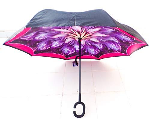 Paraguas Invertido. Paraguas Original Reversible Colores