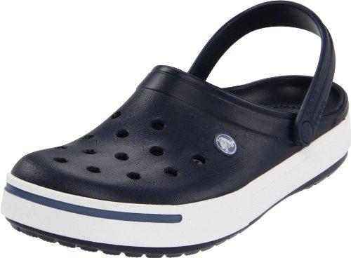 crocs Crcbnd II Nvy/BjBl 11989-42T, Unisex - Erwachsene Clogs & Pantoletten, Blau (Navy/Bijou Blue 42T), EU 46-47 (UK 11) (Herren-komfort-clogs)