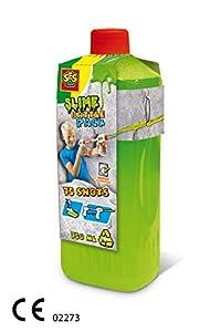 SES Creative Relleno para Batalla de blandiblú - Verde Fluorescente 750 ml - Accesorios y consumibles para Armas de Juguete (Recarga, Verde, 5 año(s), 1 Pieza(s), 818 g, 29,3 cm)