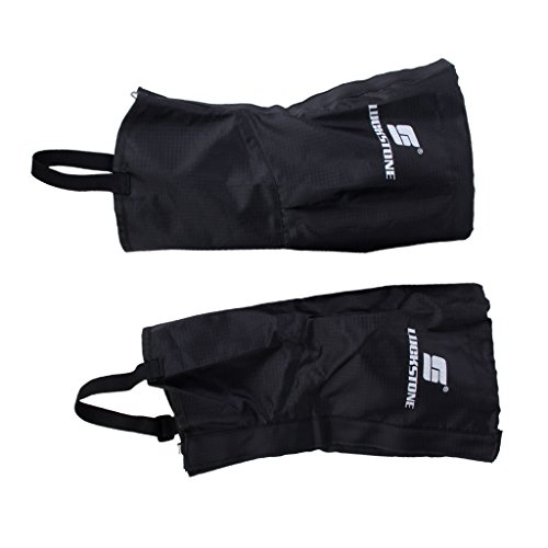 41Vzo0 nE%2BL. SS500  - 1 Pair of Waterproof Outdoor Hiking Climbing Snow Sand Legging Gaiters Leg Covers Small Size (Black)