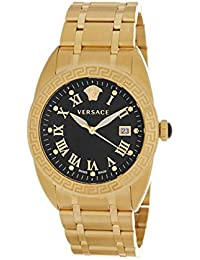 Versace VFE160017 Men s PVD Gold Plated Case and Bracelet Swiss Made Watch f68a1557d29