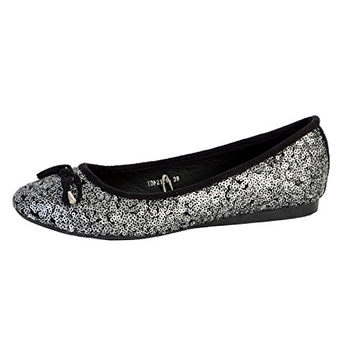 Ballerine The Divine Factory Tdf2126 Argent