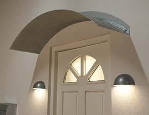 Metall Haustürvordach Vordach Türvordach Haustür 140cm