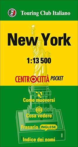 Nueva York 1:13.500 bolsillo (Centrocittà pocket) por VV.AA.