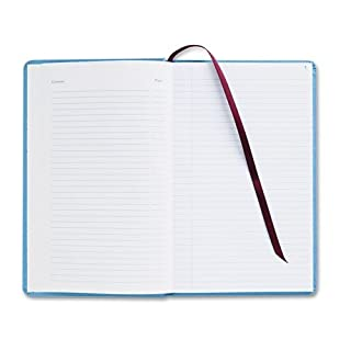 Adams Business Forms ARB712CR1 Record Ledger Book, Blue Cloth Cover, 150 7 1/2 x 12 Pages by Adams Business Forms