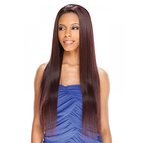 AMERIE 28'' (#99J) - Shake N Go FreeTress Equal Lace Front Synthetic Hair Wig by Freetress